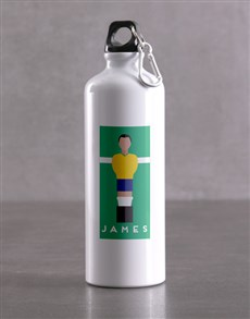 gifts: Personalised Football Waterbottle!
