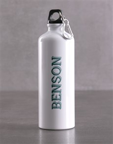 gifts: Personalised Sporty Waterbottle!