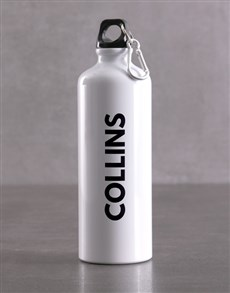 gifts: Personalised Name Waterbottle!