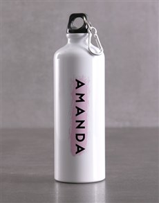 gifts: Personalised Watercolour Waterbottle!