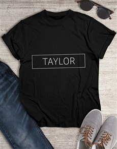 gifts: Personalised Name T Shirt !