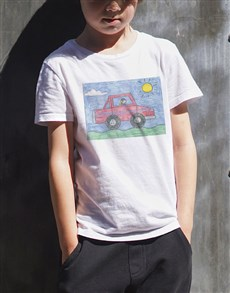 gifts: Personalised Photo Kids T Shirt!