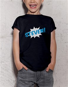 gifts: Personalised Boom Kids T Shirt!