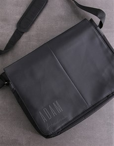 gifts: Personalised Plain And Simple Laptop Bag!