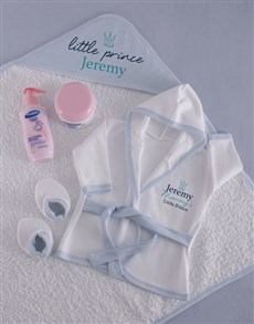 gifts: Personalised Little Prince Spoil Set!
