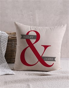 gifts: Personalised Harmony Scatter Cushion!