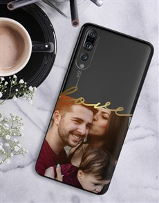 gifts: Personalised Love Photo Huawei Cover!