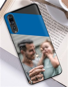 gifts: Personalised Colour Block Photo Huawei Cover!