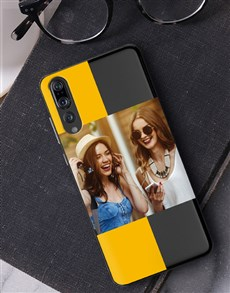 gifts: Personalised Stripe Photo Huawei Cover!