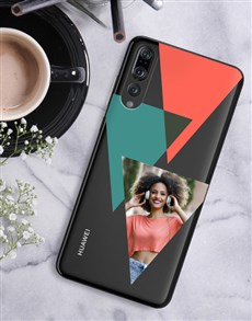 gifts: Personalised Triangle Photo Huawei Cover!