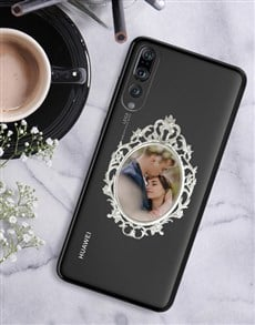 gifts: Personalised Ornate Frame Huawei Cover!