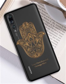gifts: Personalised Hamsa Huawei Cover!