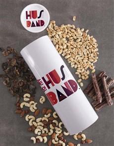 gifts: Personalised Husband Biltong and Nut Tube!