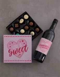 gifts: Personalised Sweet And Love Gift Box!