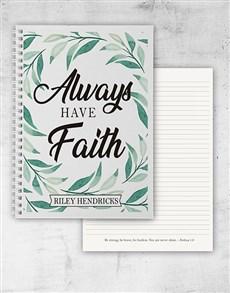 gifts: Botanical Faith Notebook!