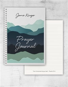gifts: Personalised Prayer Journal!
