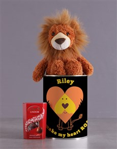 gifts: Personalised Royal Lion Tin!