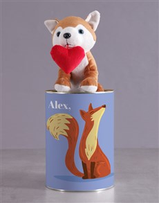 gifts: Personalised Foxy Howl Hamper!