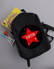 gifts: Personalised Star Kids Backpack!