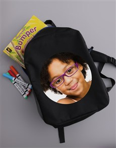 gifts: Personalised Image Upload Kids Backpack!