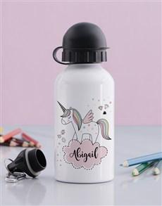 gifts: Personalised Unicorn Girls Bottle!