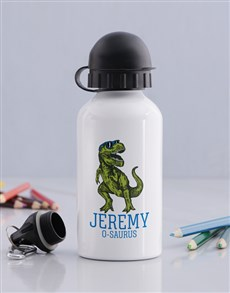 gifts: Personalised Cool Trex Boys Bottle!