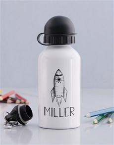 gifts: Personalised Rocket Boys Bottle!