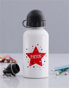 gifts: Personalised Star Kids Bottle!
