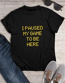 gifts: Personalised Retro Gaming Tshirt!