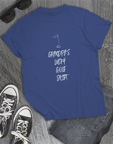 gifts: Personalised Lucky Golf Shirt!