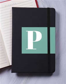gifts: Personalised Initial Block Notebook!