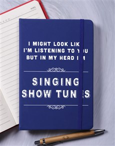 gifts: Personalised Good Listener A5 Notebook!