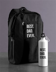 gifts: Personalised Best Ever Backpack & Waterbottle!