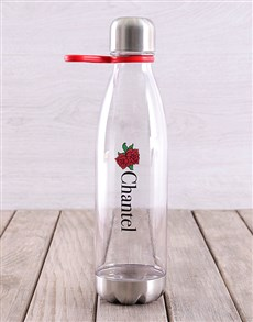 gifts: Personalised Rose Tritan Waterbottle!