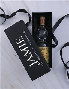 gifts: Personalised Grappa Giftbox!