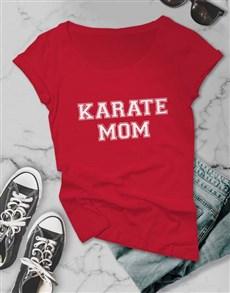 gifts: Personalised Sport Mom Ladies Tshirt!