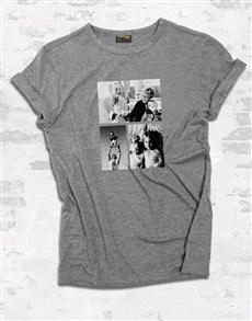 gifts: Personalised Triple Photo Ladies T Shirt!