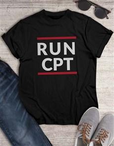 gifts: Personalised Run T Shirt!