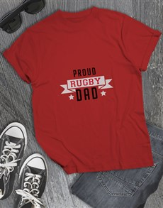 gifts: Personalised Proud Dad T Shirt!