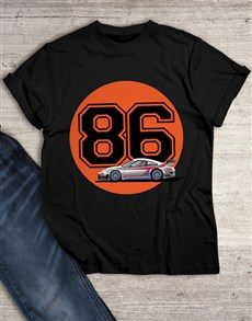 gifts: Personalised Year Race Car T Shirt!