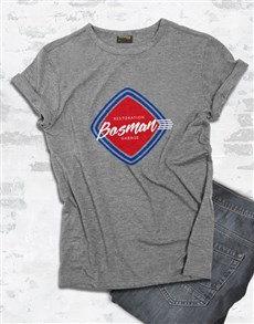 gifts: Personalised Retro Service T Shirt!