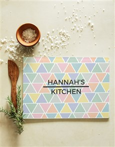 gifts: Personalised Patterned Glass Chopping Board!