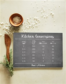 gifts: Personalised Kitchen Glass Chopping Board!