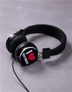 gifts: Personalised I Heart Headphones!