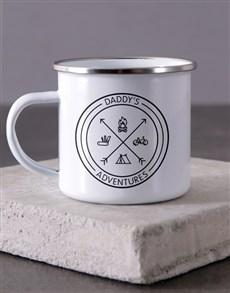 gifts: Personalised Adventures Of Dad Camper Mug !