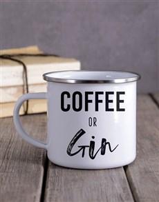 gifts: Personalised Coffee Or Gin Camper Mug!