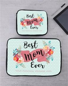 gifts: Personalised Best Mom Tablet or Laptop Sleeve!