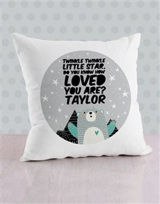 gifts: Personalised Loved Scatter Cushion!