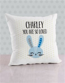 gifts: Personalised Bunny Scatter Cushion!