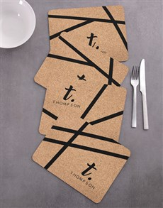gifts: Personalised Patterned Placemat Set !